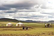 Natural landscape in Hogno Han valley Mongolia
