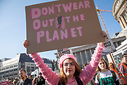 People of all ages gather for the Global Climate Strike organised by UK Student Climate Network on 20th September 2019 in Birmingham, United Kingdom. The School strike for climate, also known as Fridays for Future, Youth for Climate and Youth Strike 4 Climate, is an international movement of school students who are deciding not to attend classes and instead take part in demonstrations to demand action to prevent further global warming and climate change. UK Student Climate Network is calling on everyone - adults, workers, community groups, trade unionists, nurses, teachers, steel workers, car manufacturers, waiters and everyone else in between to join them in a global general climate strike. This protest will join people all around the world in a massive day of climate action.