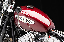 """Jeff Cochran's Speedking Pan, a Special Order 93"""" S&S Panhead, built in 2019. Photographed by Michael Lichter in Sturgis, SD. {August} {3}, {2020}. ©{2020} Michael Lichter"""