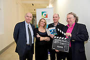 Lights, camera, action for Galway as the city of the Tribes announces its bid to join UNESCO's Creative Cities network as a City of Film! With the audiovisual sector in the West of Ireland having a direct contribution of €72 million to the region in 2012 and only two other designated cities of film in the world, it signals the significance of the bid on both a national and international scale.   James Hickey, CEO of IFB,  Marilyn Gaughan, Galway County Arts Officer ,  Declan Gibbons, Galway Film Centre and James Harold City Arts Officer. Picture:Andrew Downes