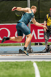 Robert Harting, Germany, mens discus, sets new meet and field record, adidas Grand Prix Diamond League track and field meet