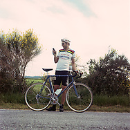 GPS is a sure way to find the track. On May 27, 2018 the second edition od the Eroica went of, the Eroica is a bicycle race where only bikes berore 1985 can partecipate. Cyclists must wear vintage cloths and the road are often on gravel. It's a non competitive race, but fatigue and sweat are real. Federico Scoppa