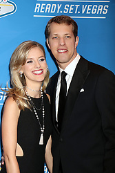 Brad Keselowski, Paige White attending the 2016 NASCAR Sprint Cup Series Awards