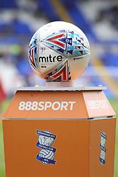 Birmingham City Mitre Match Ball - Mandatory by-line: Ryan Crockett/JMP - 12/08/2017 - FOOTBALL - St Andrew's Stadium - Birmingham, England - Birmingham City v Bristol City - Sky Bet Championship