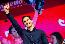 Jan Polanc  during reception of best Slovenian riders after Giro d'Italia 2019 and Tour of California 2019, on June 3rd, 2019, in Mestni trg, Ljubljana, Slovenia. Photo by Vid Ponikvar / Sportida