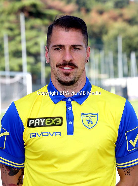 Italian League Serie A -2015-2016 / <br /> ( AC Chievo Verona  ) - <br /> Fabrizio Cacciatore