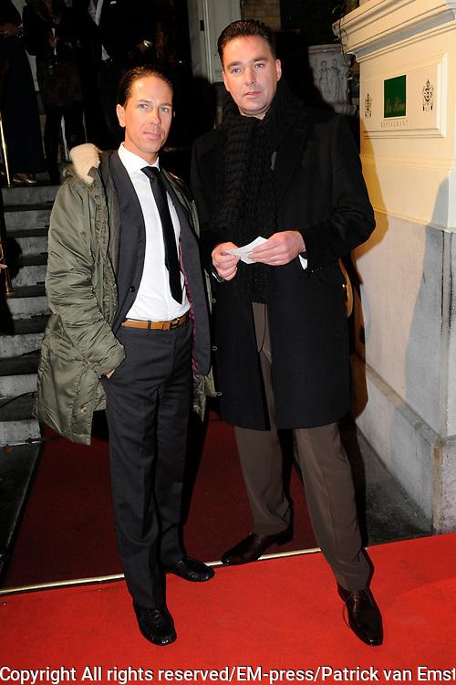 Uitreiking Beau Monde Awards in het Amstel Hotel, Amsterdam.<br /> <br /> Op de foto: Paul Schulten (R)