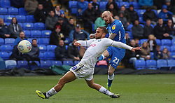 Marcus Maddison of Peterborough United scores his second and his sides fourth goal of the game - Mandatory by-line: Joe Dent/JMP - 02/03/2019 - FOOTBALL - ABAX Stadium - Peterborough, England - Peterborough United v Wycombe Wanderers - Sky Bet League One