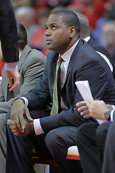 28 November 2009: Assistant coach Paris Parham. The Redhawks of SouthEast Missouri State fall the Redbirds of Illinois State 93-53 on Doug Collins Court inside Redbird Arena in Normal Illinois.