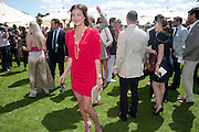 SASKIA BOXFORD, Cartier International Polo. Smiths Lawn. Windsor. 24 July 2011. <br /> <br />  , -DO NOT ARCHIVE-© Copyright Photograph by Dafydd Jones. 248 Clapham Rd. London SW9 0PZ. Tel 0207 820 0771. www.dafjones.com.