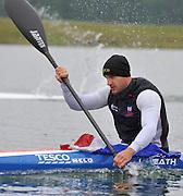 Eton, United Kingdom. Men's K2 Stern, Liam HEATH,  2012 GB Canoeing Training, Dorney Lake. Wednesday  02/05/2012  [Mandatory Credit; Peter Spurrier/Intersport-images]