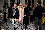 HENRY HOLLAND; AGYNESS DEYN; GARETH PUGH, Kate Grand hosts a Love Tea and Treasure hunt at Flash. Royal Academy. Burlington Gardens. London. 10 december 2008 *** Local Caption *** -DO NOT ARCHIVE-© Copyright Photograph by Dafydd Jones. 248 Clapham Rd. London SW9 0PZ. Tel 0207 820 0771. www.dafjones.com.<br /> HENRY HOLLAND; AGYNESS DEYN; GARETH PUGH, Kate Grand hosts a Love Tea and Treasure hunt at Flash. Royal Academy. Burlington Gardens. London. 10 december 2008