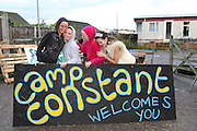 Dale Farm in Essex, the UK largest Travellers' site. To support the Irish Travellers who own the land but never got planning permission and were about to be evicted by Basildon Council, some activists set up a Camp, called Camp Constant