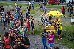 Carnaval Rua de Porto Alegre, com os blocos Panela do Samba e As Batucas, na Orla do Guaíba. FOTO: Gustavo Granata/ Agência Preview
