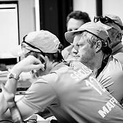 © Maria Muina I MAPFRE. El Rey Don Juan Carlos apoya a la tripulación del MAPFRE antes del inicio de la 10ª etapa
