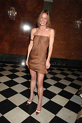 ZOE RUSSELL at a party to celebrate the launch of The Essential Party Guide held at the Mandarin Oriental Hyde Park, 66 Knightsbridge, London on 27th March 2007.<br /><br />NON EXCLUSIVE - WORLD RIGHTS