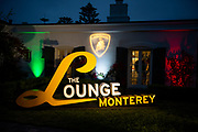 August 15, 2019:  Monterey Car Week, Lamborghini Lounge Mansion at Pebble Beach