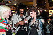 FRED BUTLER; ROWDY SUPERSTAR; ROSY NICHOLAS, The Nineties are Vintage. Concept Store, Rellik and Workit. The Wonder Room. Selfridges. Oxford St. London. 7 January 2010.