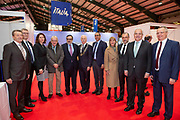 Ambassodor's reception at Holiday World RDS 2019 Friday.<br /> Pic shows a group shot at the event today.<br /> Pic Gary Ashe.25/1/2019