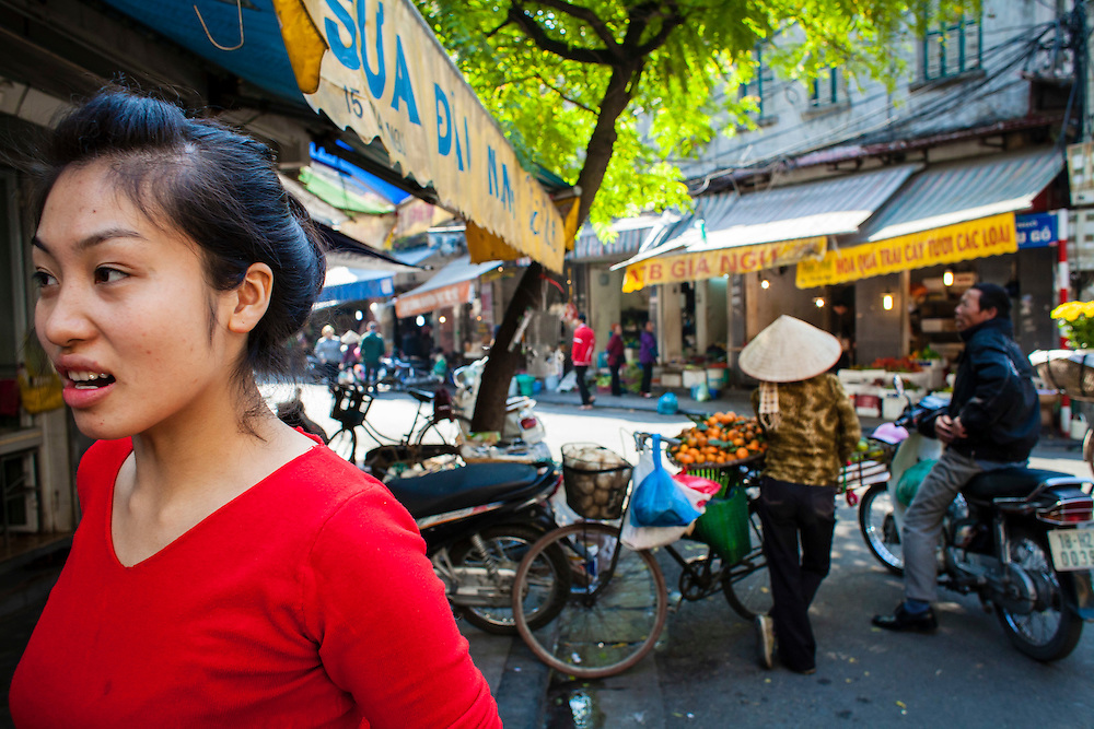 Hanoi, Vietnam December 2014.