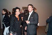 NANCY DELL D'OLIO; MARCO DICESARIA, Gauguin, Tate Modern. London. 28 September 2010. -DO NOT ARCHIVE-© Copyright Photograph by Dafydd Jones. 248 Clapham Rd. London SW9 0PZ. Tel 0207 820 0771. www.dafjones.com.