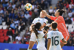 June 10, 2019 - Paris, ile de france, France - Vanina CORREA (ARG) in Action during the match between Argentina and Japan at the 2019 World cup  on June 10, 2019, at the Parc des Princes stadium in Paris, France. (Credit Image: © Julien Mattia/NurPhoto via ZUMA Press)