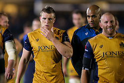 Jack O'Connell of Bristol Rugby looks frustrated after a 22-6 loss - Rogan Thomson/JMP - 20/10/2016 - RUGBY UNION - The Recreation Ground - Bath, England - Bath Rugby v Bristol Rugby - EPCR Challenge Cup.