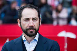 December 16, 2018 - Seville, Andalucia, Spain - Pablo Machin, coach of Sevilla FC, during the LaLiga match between Sevilla FC and Girona at Estadio Ramón Sánchez Pizjuán on December 16, 2018 in Seville, Spain  (Credit Image: © Javier MontañO/Pacific Press via ZUMA Wire)