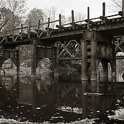 Rail Bridge, West Branch Housatonic River