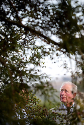 The Prince of Wales during a visit to Powerscourt House and Gardens in Enniskerry, Co Wicklow, on the first day of their visit to Ireland.