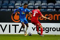 Alex Reid. Stockport County FC 2-0 Wrexham FC. Vanarama National League. 28.12.20