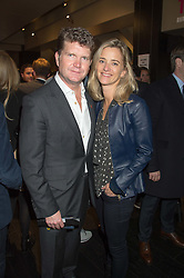 The US Ambassador to the UK MATTHEW BARZUN and his wife BROOKE BROWN BARZUN at the Al Films and Warner Music Screening of Kill Your Friends held at the Curzon Soho Cinema, 99 Shaftesbury Avenue, London on 27th October 2015.