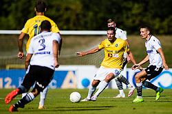 Luka Zinko of NK Bravo during football match between NK Bravo and NK Koper in 4th Round of Prva liga Telekom Slovenije 2020/21, on September 19, 2020 in Sport park ZAK, Ljubljana, Slovenia. Photo by Grega Valancic / Sportida