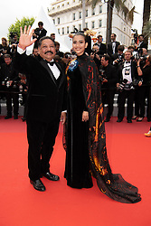 Thi May Truong and Raja Ramani attend the screening of Oh Mercy during the opening ceremony of 72nd Cannes Film Festival on May 22, 2019 in Cannes, France.<br /> Photo by David Niviere/ABACAPRESS.COM