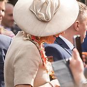 NLD/Amersfoort/20190427 - Koningsdag Amersfoort 2019, Hoed Koningin Maxima
