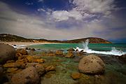 Picnic Bay Beach at Wilsons Prom - Wilsons Promontory Marine Park, Gippsland, Victoria, Australia.