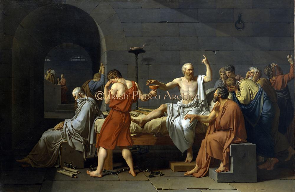 Jaques Louis David, The Death of Socrates 1787