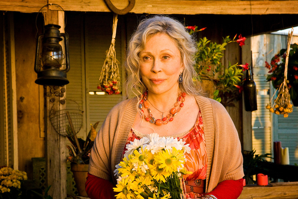Faye Dunaway in Lifetime Television's movie of Nora Robert's novel 'Midnight Bayou.'
