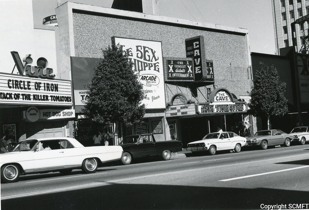 1979 The Cave Adult Theater on Hollywood Blvd.