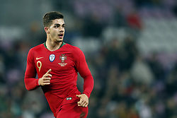 Andre Silva of Portugal during the International friendly match match between Portugal and The Netherlands at Stade de Genève on March 26, 2018 in Geneva, Switzerland