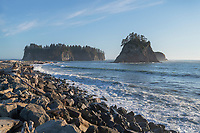 Jame and Little James Islands Rialto Beach Olympic National Park