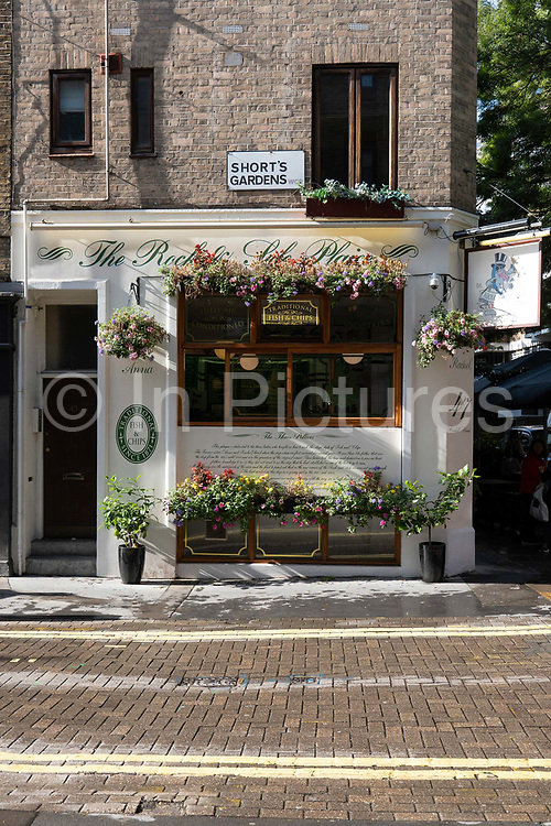The Rock and Sole Plaice traditional fish and chip restaurant on the 27th September 2019 in London in the United Kingdom.