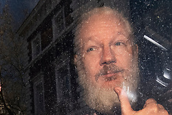 File photo dated 11/4/2019 of Julian Assange. More than 70 Parliamentarians have signed a letter urging the Government to ensure the WikiLeaks founder faces Swedish authorities if they request his extradition.
