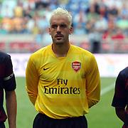 NLD/Amsterdam/20070802 - LG Amsterdams Tournament 2007, Lazio Roma - Arsenal, Manuel Almunia