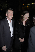 JOHN HURT AND EMILY WATSON, The opening gala screening of 'The Proposition' as part of The London Australian Film Festival, Barbican Cinema, London. 2 March 2006. fONE TIME USE ONLY - DO NOT ARCHIVE  © Copyright Photograph by Dafydd Jones 66 Stockwell Park Rd. London SW9 0DA Tel 020 7733 0108 www.dafjones.com