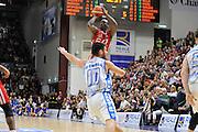 DESCRIZIONE : Beko Legabasket Serie A 2015- 2016 Dinamo Banco di Sardegna Sassari - Olimpia EA7 Emporio Armani Milano<br /> GIOCATORE : Rakim Sanders<br /> CATEGORIA : Tiro Tre Punti Three Point<br /> SQUADRA : Olimpia EA7 Emporio Armani Milano<br /> EVENTO : Beko Legabasket Serie A 2015-2016<br /> GARA : Dinamo Banco di Sardegna Sassari - Olimpia EA7 Emporio Armani Milano<br /> DATA : 04/05/2016<br /> SPORT : Pallacanestro <br /> AUTORE : Agenzia Ciamillo-Castoria/C.AtzoriCastoria/C.Atzori