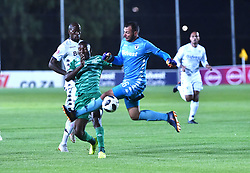 SOUTH AFRICA: GAUTENG: Bidvest Wits goalkeeper Darren Keet clash with Bloemfontein Celtic player Victor Letsoalo during the Absa Premiership at Bidvest Stadium Gauteng.<br />815<br />10.11.2018<br />Picture: Itumeleng English/African News Agency (ANA)