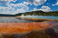 Grand Prismatic Spring in Yellowstone National Park is a site everyone should see.  The colors are simply amazing.