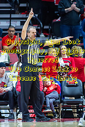 NORMAL, IL - February 26: Randy Heimerman during a college basketball game between the ISU Redbirds and the Bradley Braves on February 26 2020 at Redbird Arena in Normal, IL. (Photo by Alan Look)
