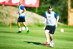 JASMIN KURTIC of Slovenia national football team during practice session, on June 3, 2019 in Kranjska Gora, Slovenia. Photo by Peter Podobnik/ Sportida